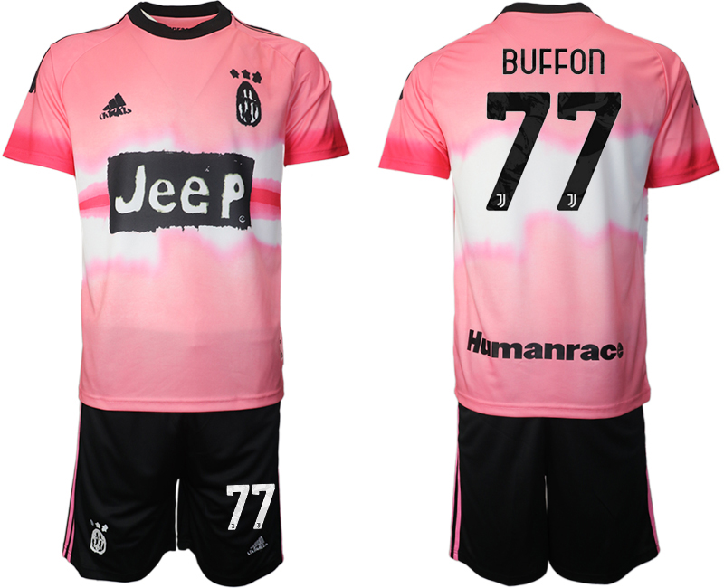 Cheap Men 2021 Juventus adidas Human Race 77 soccer jerseys