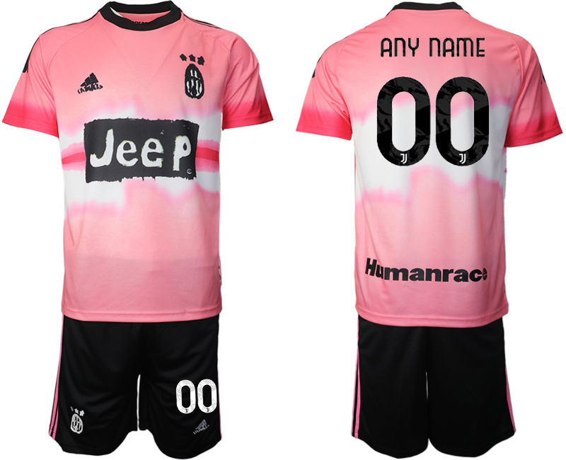 Cheap Men 2021 Juventus adidas Human Race custom soccer jerseys