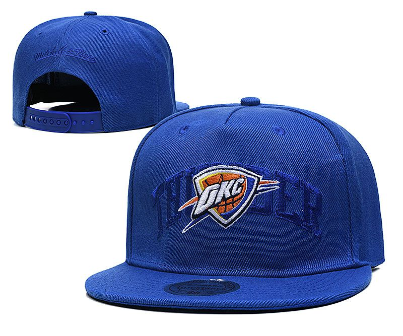 Cheap 2021 NBA Oklahoma City Thunder Hat TX326
