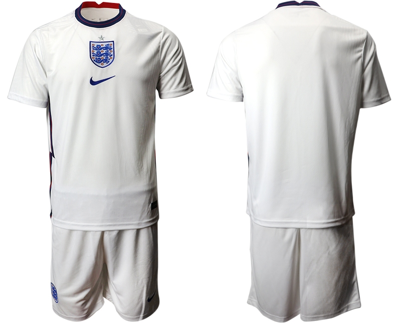 Wholesale Men 2021 European Cup England home white Soccer Jersey