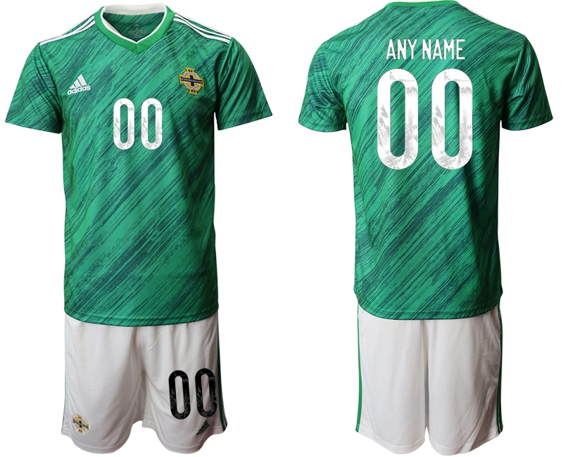 Cheap Men 2021 European Cup Northern Ireland green home customized Soccer Jersey