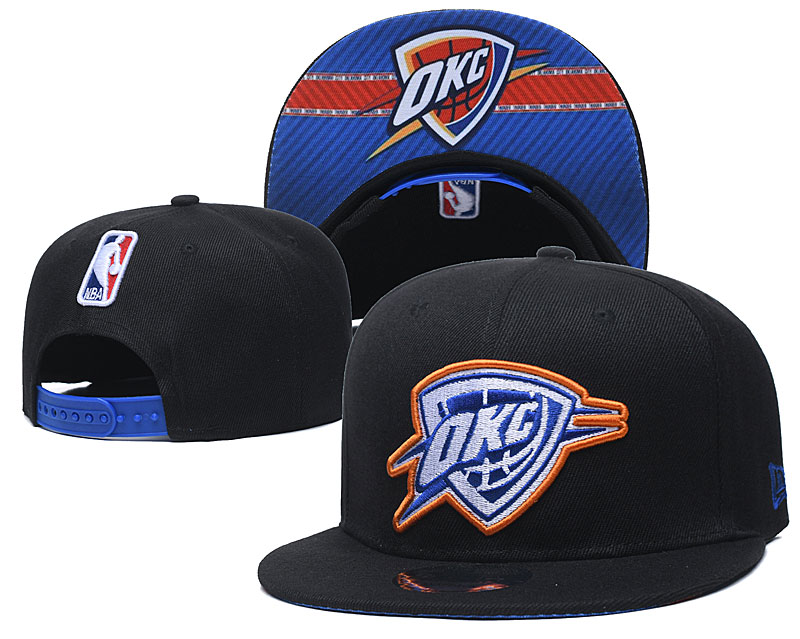 Cheap 2021 NBA Oklahoma City Thunder Hat GSMY407
