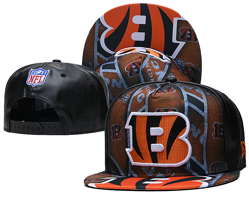 Cheap 2021 NFL Cincinnati Bengals Hat TX407