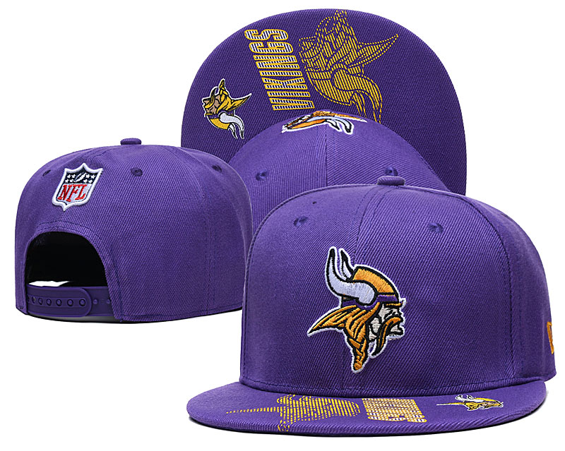 Cheap 2021 NFL Minnesota Vikings Hat GSMY407