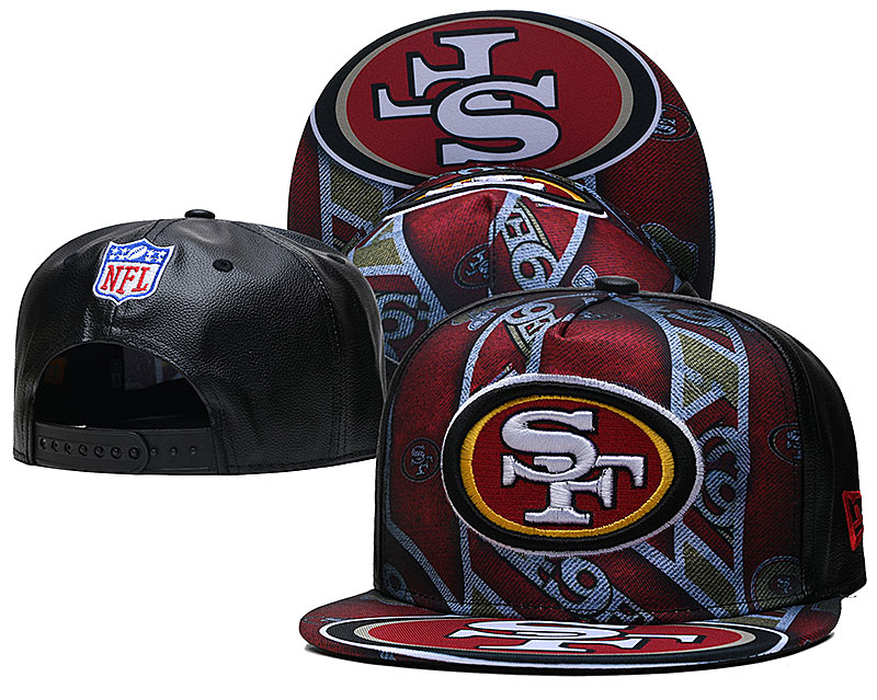 Cheap 2021 NFL San Francisco 49ers Hat TX407