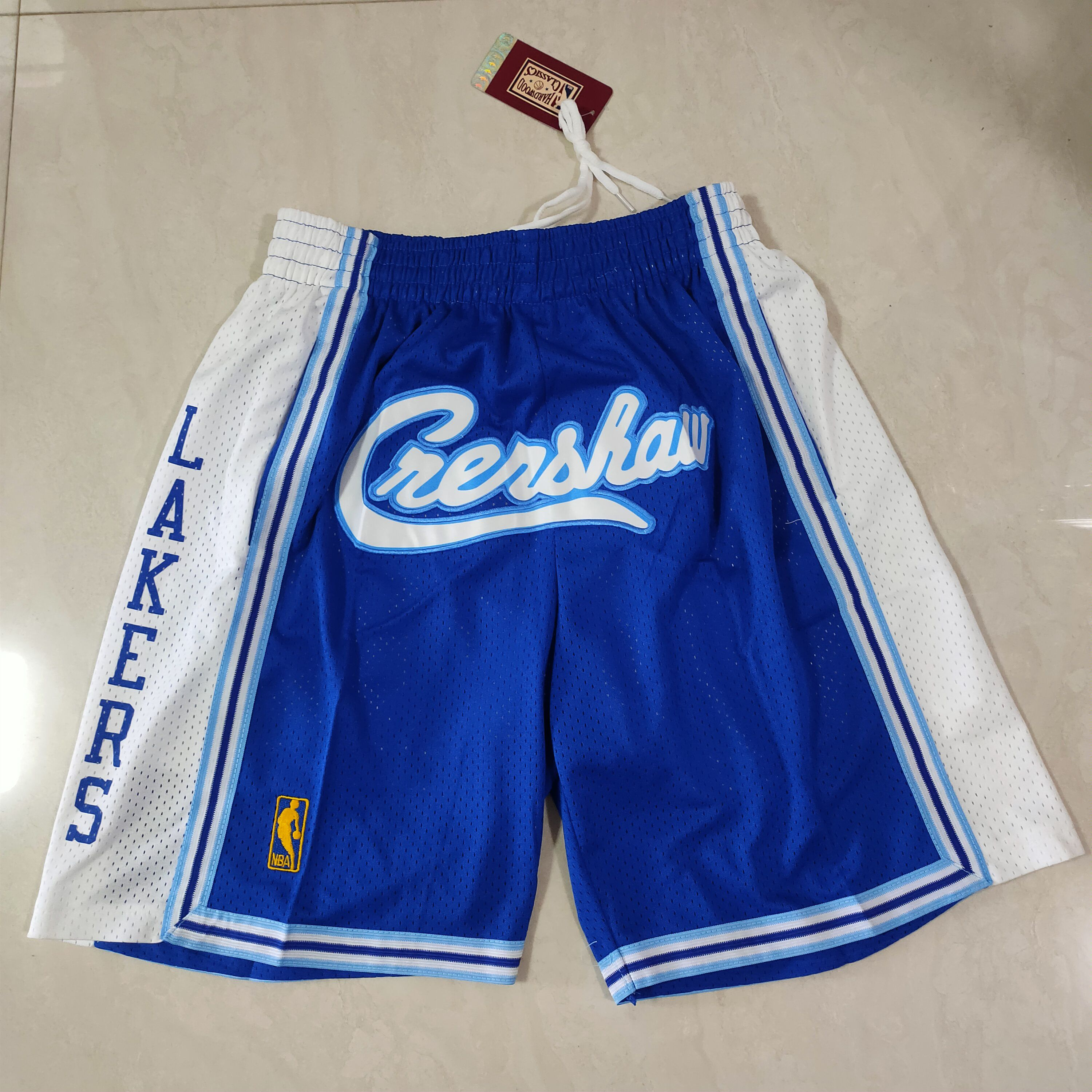 Cheap Men 2021 Crenshaw Blue Shorts