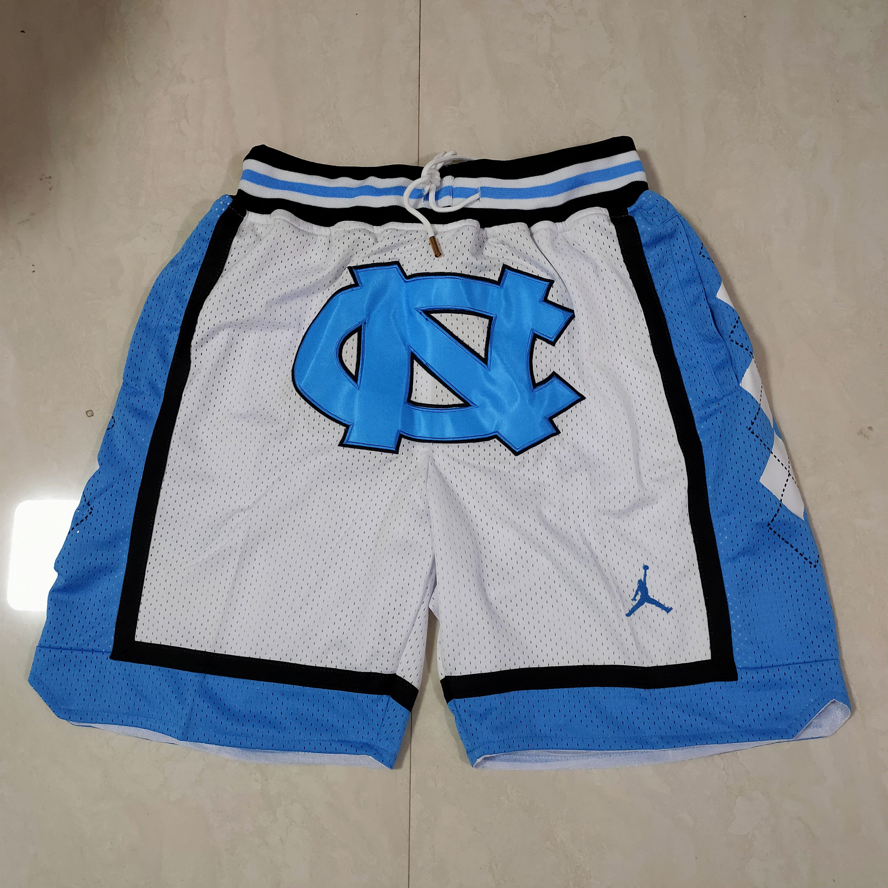 Cheap Men 2021 North Carolina White Shorts