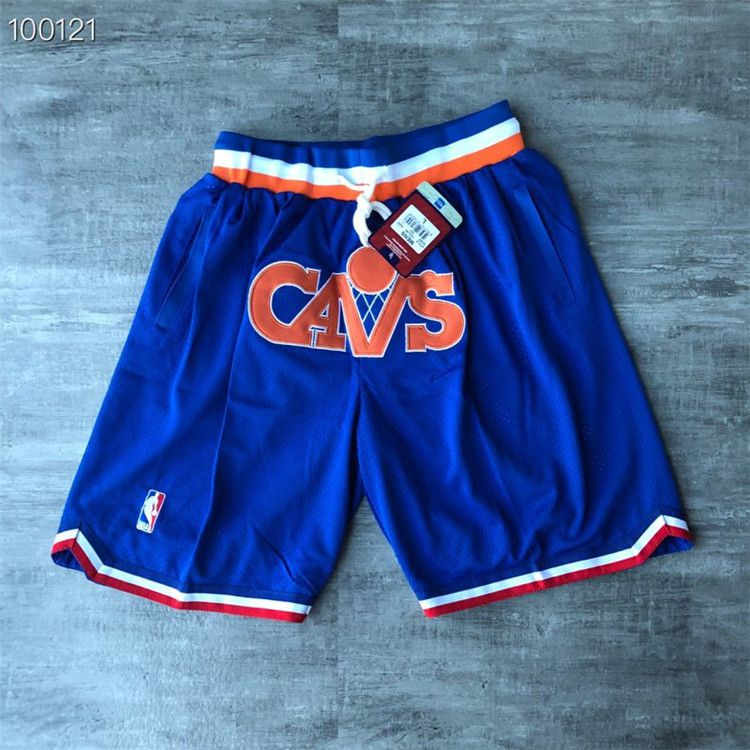 Cheap Men 2021 The Cavaliers Blue Shorts