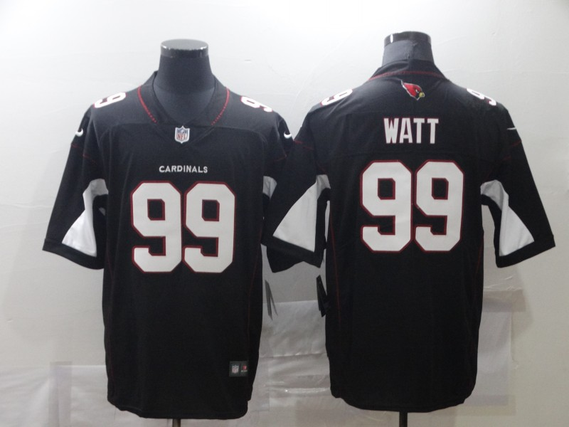 Wholesale Men Arizona Cardinals 99 Watt Black Nike Vapor Untouchable Limited NFL Jersey