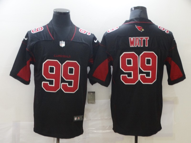 Wholesale Men Arizona Cardinals 99 Watt Black Nike Vapor Untouchable Limited NFL Jerseys
