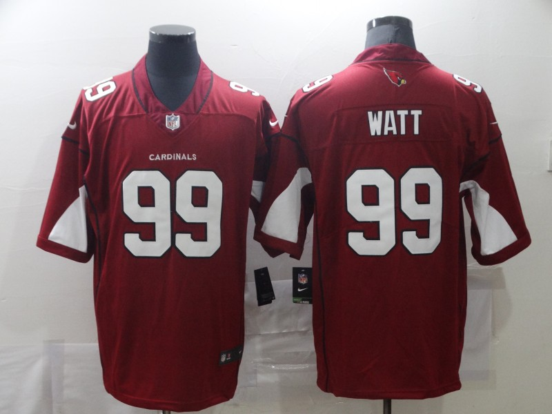 Wholesale Men Arizona Cardinals 99 Watt Red Nike Vapor Untouchable Limited NFL Jerseys