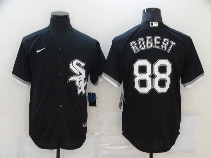 Cheap Men Chicago White Sox 88 Robert Black Game 2021 Nike MLB Jersey