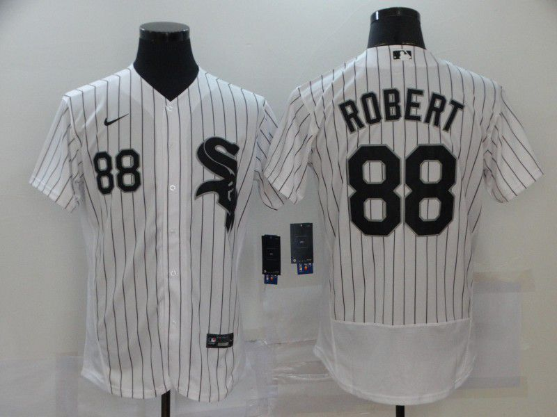 Cheap Men Chicago White Sox 88 Robert White Elite 2021 Nike MLB Jersey