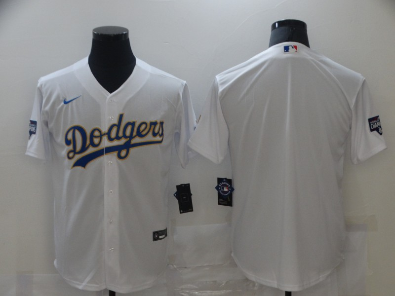 Cheap Men Los Angeles Dodgers Blank White Game 2021 Nike MLB Jerseys