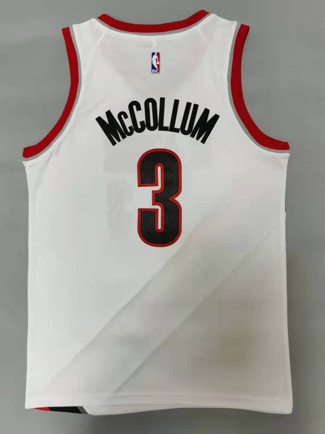Cheap Men Portland Trail Blazers 3 Mccollum White 2021 Nike Game NBA Jerseys