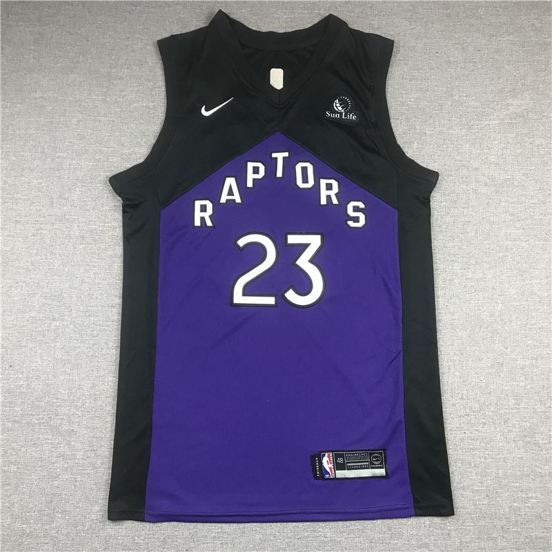 Cheap Men Toronto Raptors 23 Vanvleet Purple 2021 Nike Game NBA Jersey