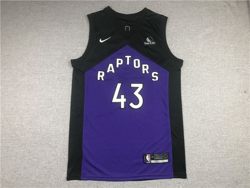 Cheap Men Toronto Raptors 43 Siakam Purple 2021 Nike Game NBA Jersey