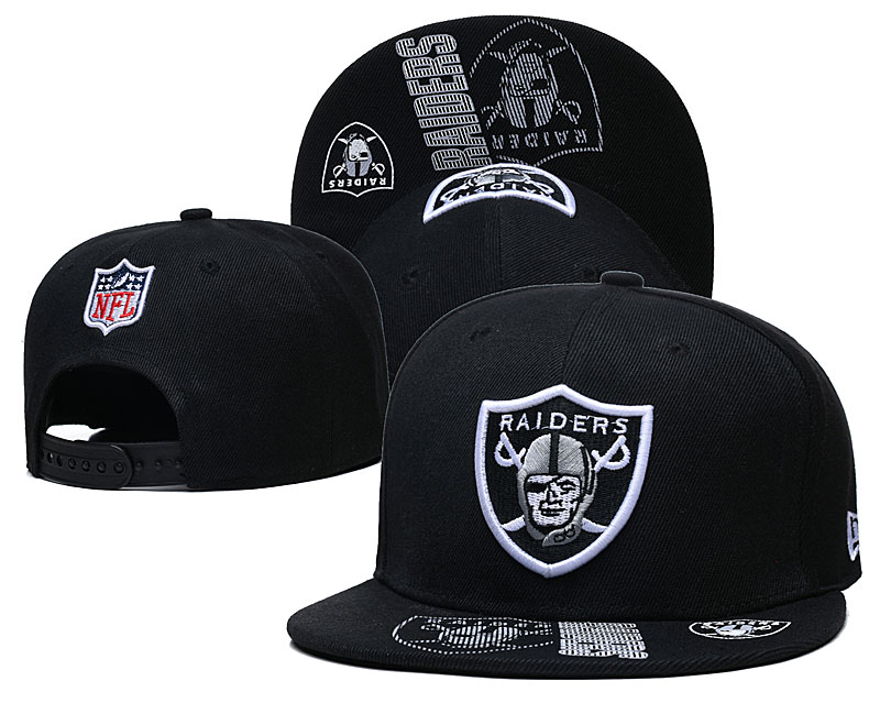 Cheap NFL 2021 Oakland Raiders 002 hat GSMY