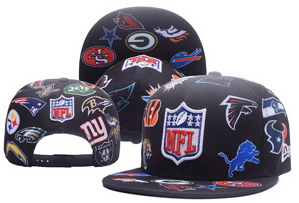 NFL Teams Snapback Black 201703
