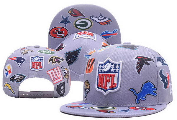 NFL Teams Snapback Gray 201702