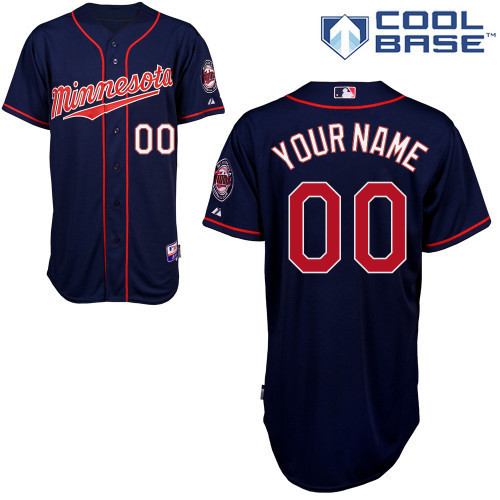 MLB Customize Minnesota Twins dark blue Jerseys