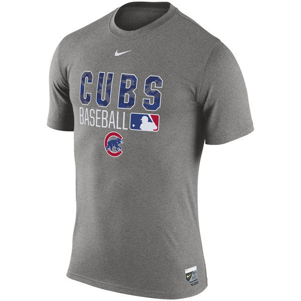 2016 MLB Chicago Cubs Nike 2016 AC Legend Team Issue 1.6 T-Shirt - Gray