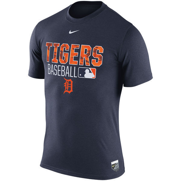 2016 MLB Detroit Tigers Nike 2016 AC Legend Team Issue 1.6 T-Shirt - Navy