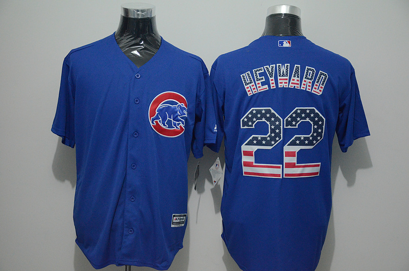 2016 MLB FLEXBASE Chicago Cubs 22 Heyward blue jersey
