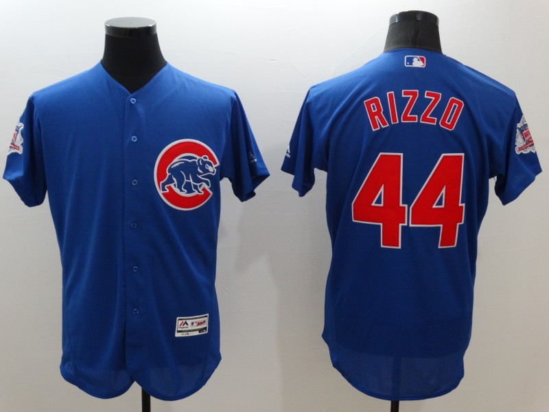 2016 MLB FLEXBASE Chicago Cubs 44 Rizzo blue jerseys