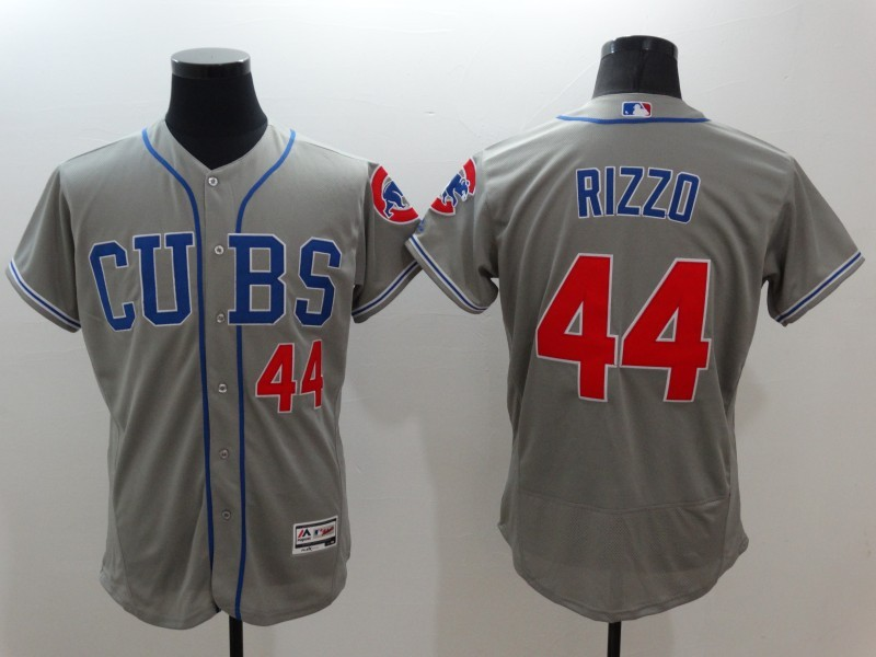 2016 MLB FLEXBASE Chicago Cubs 44 Rizzo grey jerseys