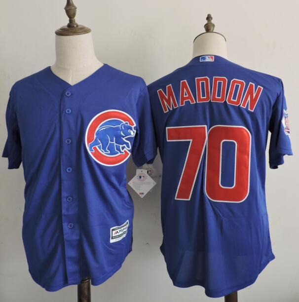 2016 MLB FLEXBASE Chicago Cubs 70 Maddon Blue Jerseys