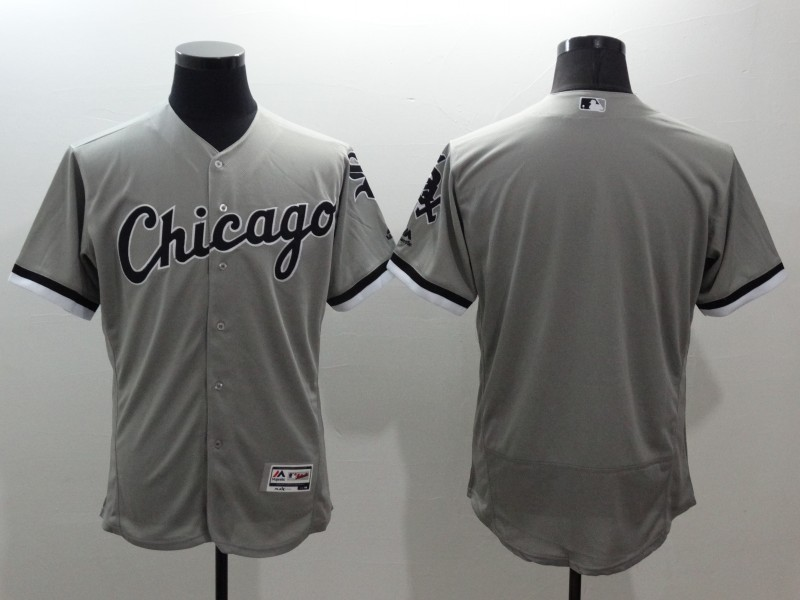 2016 MLB FLEXBASE Chicago White Sox blank grey jerseys