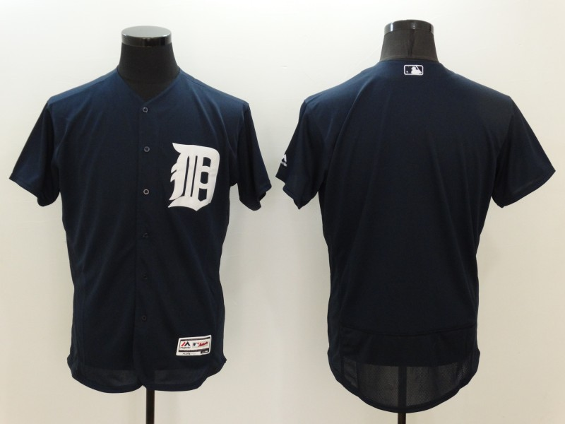 2016 MLB FLEXBASE Detroit Tigers Blank Blue Jerseys