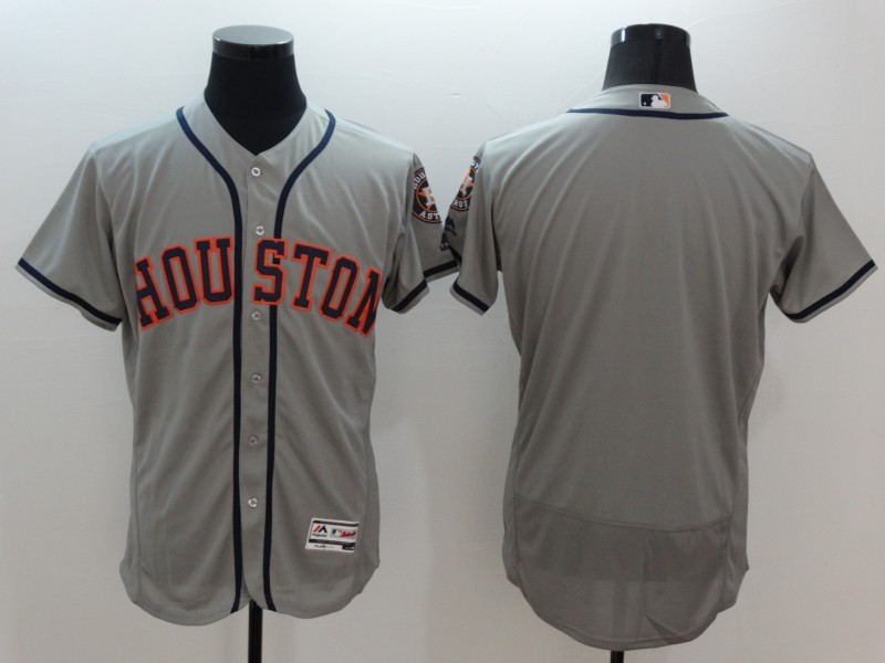 2016 MLB FLEXBASE Houston Astros blank grey jerseys