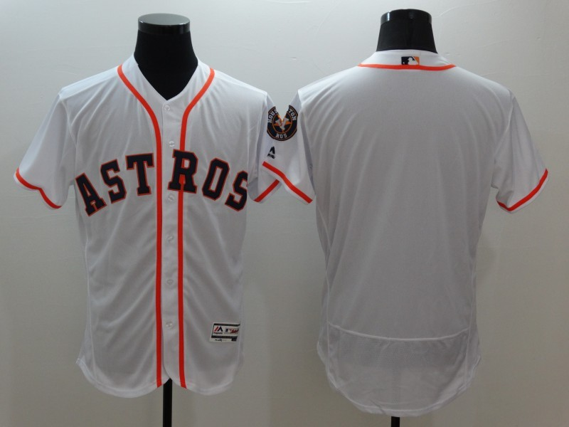 2016 MLB FLEXBASE Houston Astros blank white jerseys