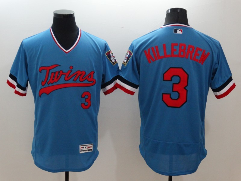 2016 MLB FLEXBASE Minnesota Twins 3 Killbrew blue jerseys