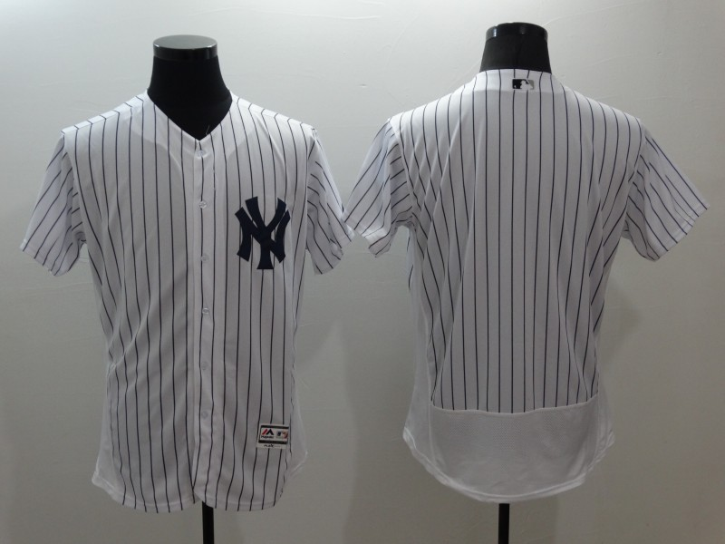 2016 MLB FLEXBASE New York Yankees blank white jerseys