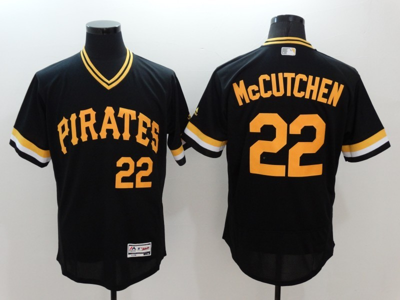 2016 MLB FLEXBASE Pittsburgh Pirates 22 McCutchen black jerseys