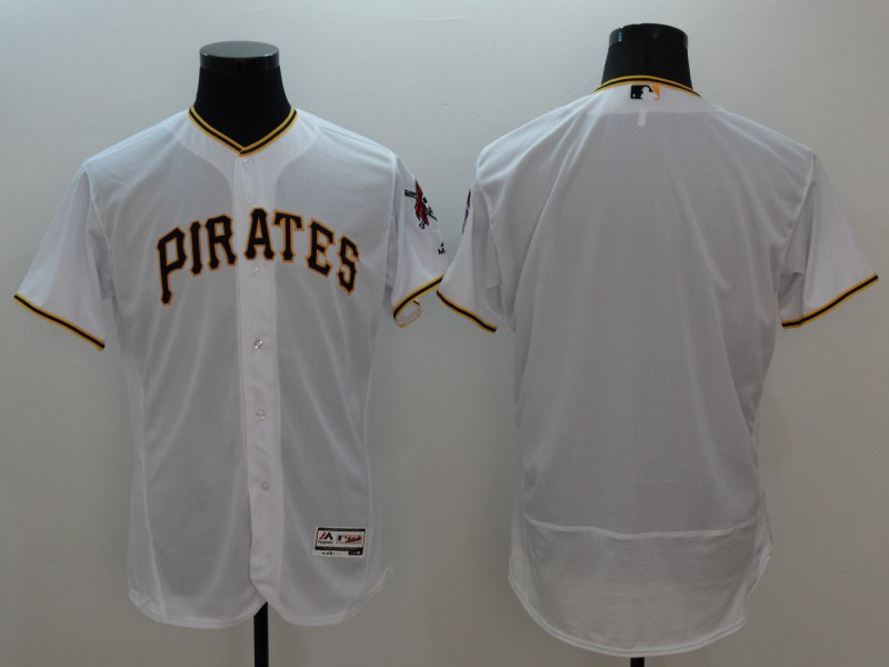 2016 MLB FLEXBASE Pittsburgh Pirates blank white jerseys