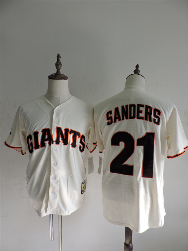 2016 MLB FLEXBASE San Francisco Giants 21 Freddy Sanchez Gream Jerseys
