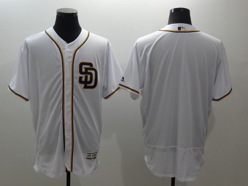 2016 MLB FLEXBASE San Francisco Giants blank white jerseys