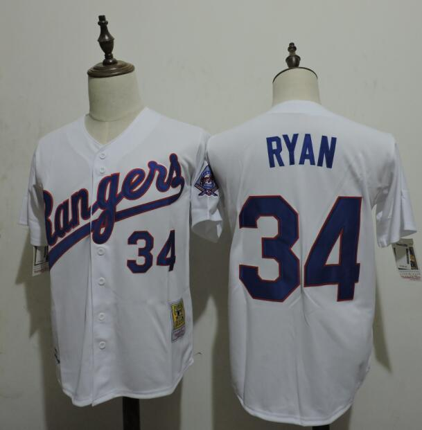 2016 MLB FLEXBASE Texas Rangers 34 Ryan White Jersey