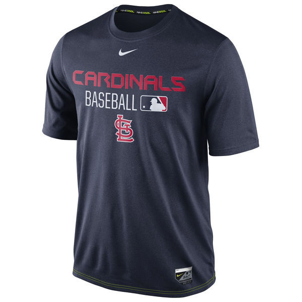 2016 MLB St. Louis Cardinals Nike Legend Team Issue Performance T-Shirt - Navy