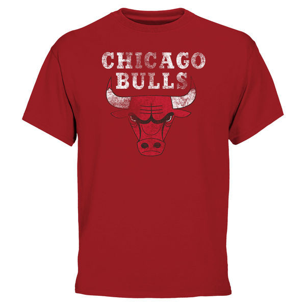 2016 NBA Chicago Bulls Big & Tall Team T-Shirt - Red