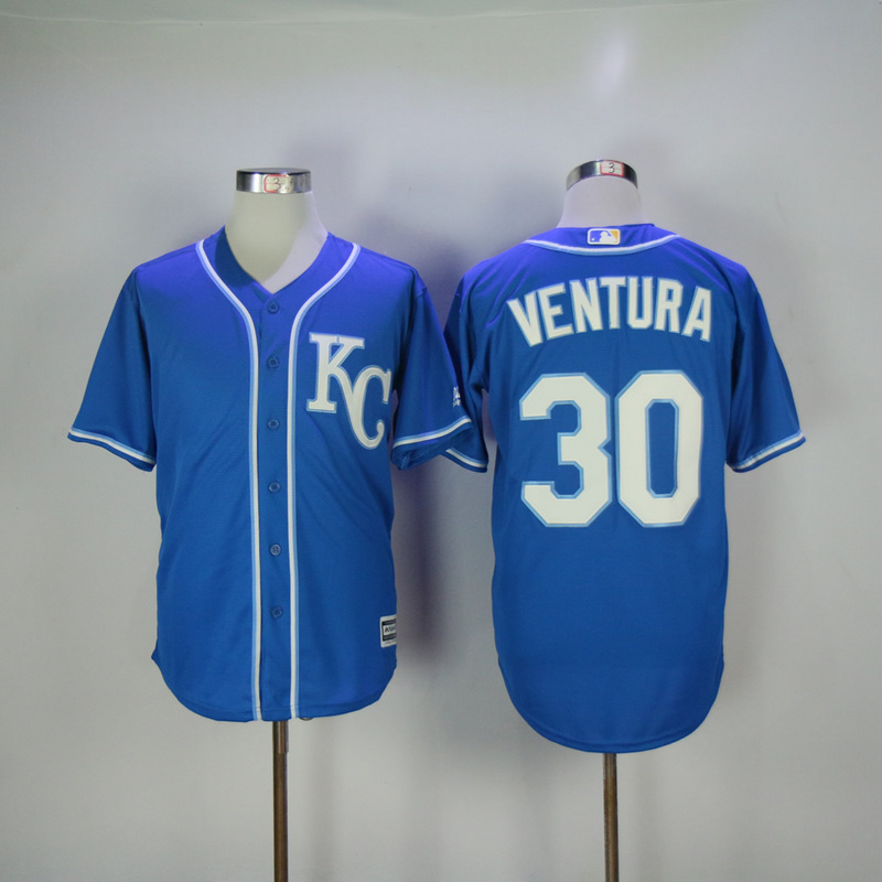 2017 MLB Kansas City Royals 30 Ventura Game Jerseys