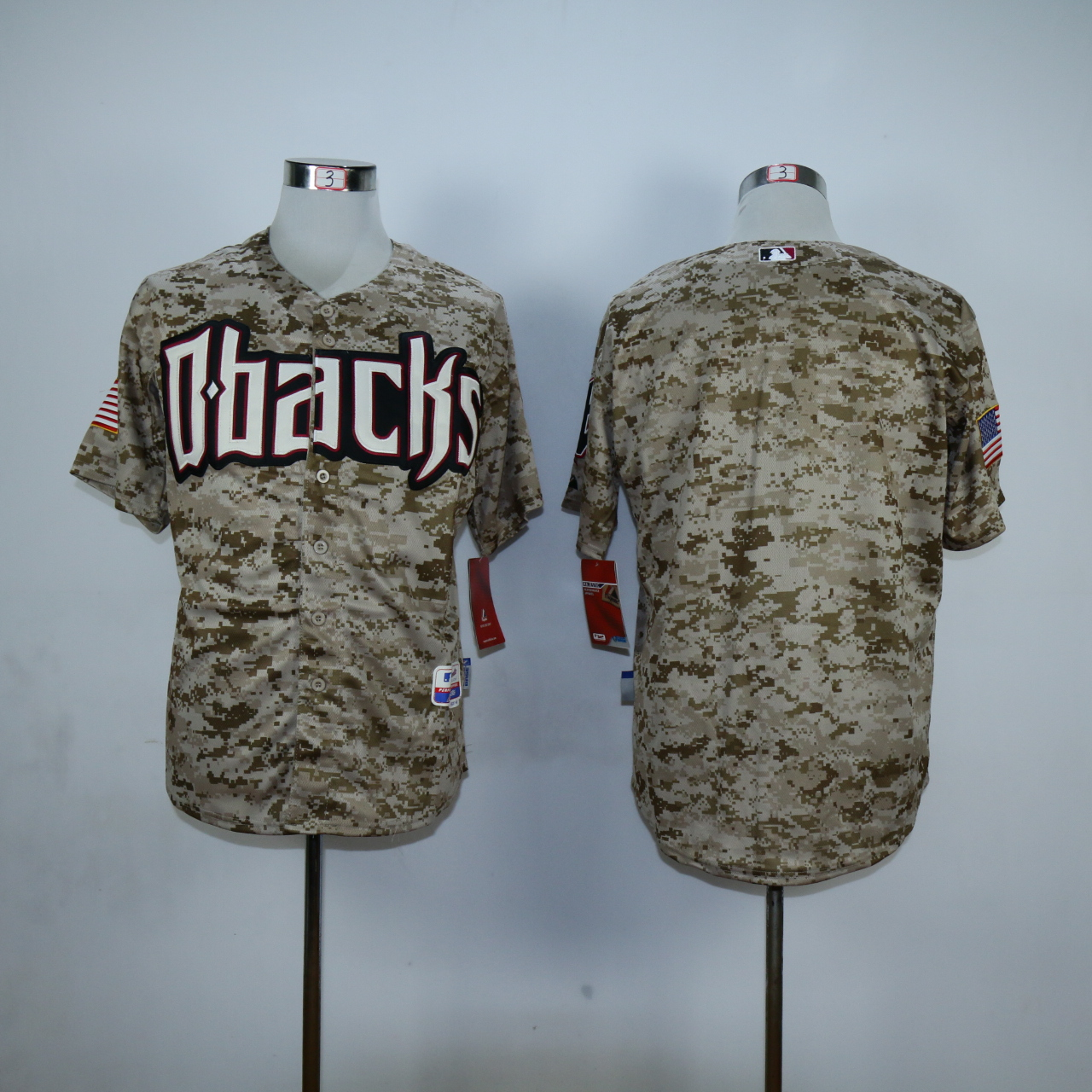 MLB Arizona Diamondbacks blank Camo Jerseys