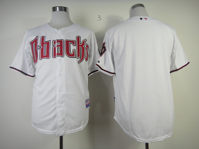 MLB Arizona Diamondbacks blank White Jerseys