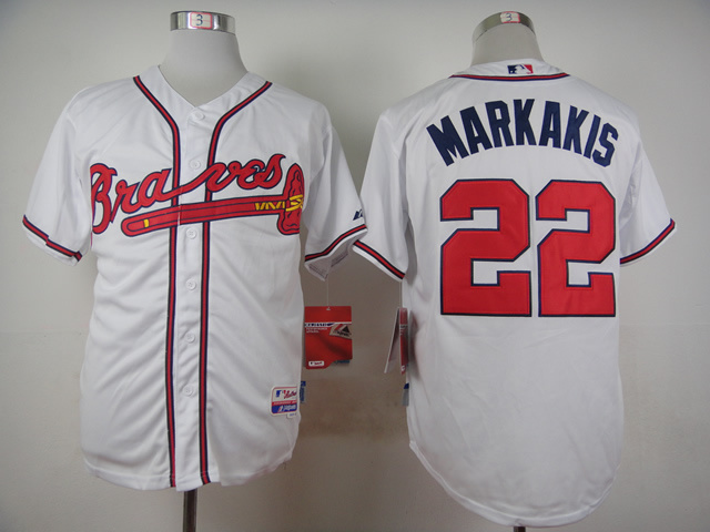 MLB Atlanta Braves 22 Jason Heyward White 2015 Jerseys