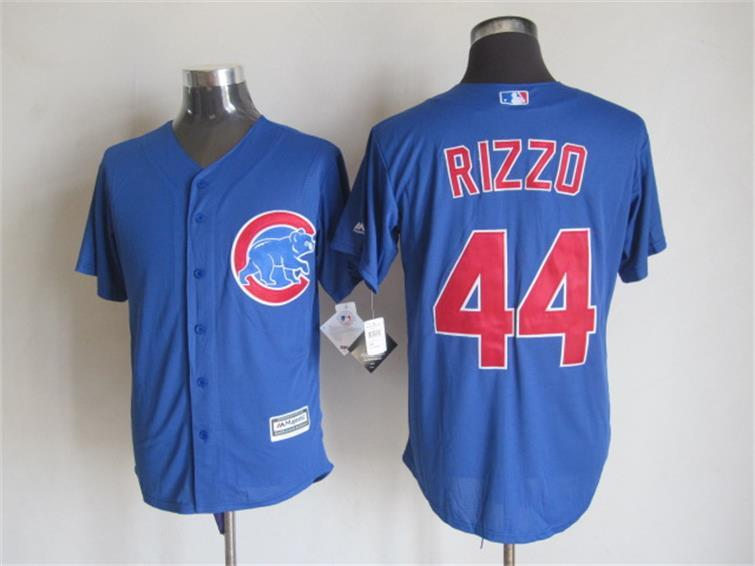 MLB Chicago Bears 44 rizzo blue 2015 New Fabric Jersey