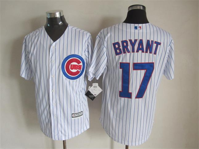 MLB Chicago Cubs 17 Bryant White 2015 Jerseys